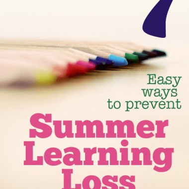 7 easy way to prevent summer learning loss. These are things that are easy to work into those long summer days that will keep little minds active!