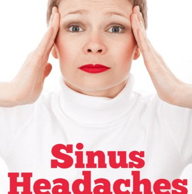 Here are 5 ideas to cure your sinus pressure or sinus headaches!