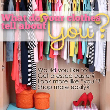 What do your clothes tell others about you? Do you want to get dressed & shop easier, do you want to LOOK like the person you are? Come on my journey with me.