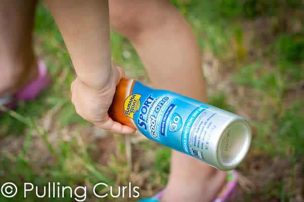 Use Bananna Boat sunscreen to protect your family!