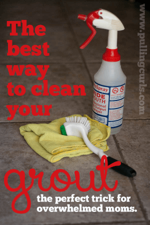 Your Very Own Homemade Grout Cleaner