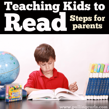 Teaching Reading for Parents will help you in 4 steps in guiding your child to the magical world of literacy!
