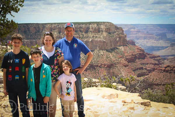 Our family visisted the Grand Canyon