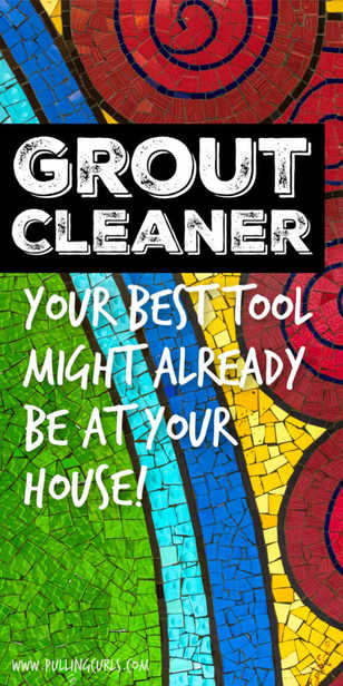 How to clean your grout. via @pullingcurls