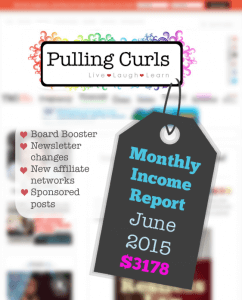 My June 2015 income report. I saw a pretty big income increase, come see how!