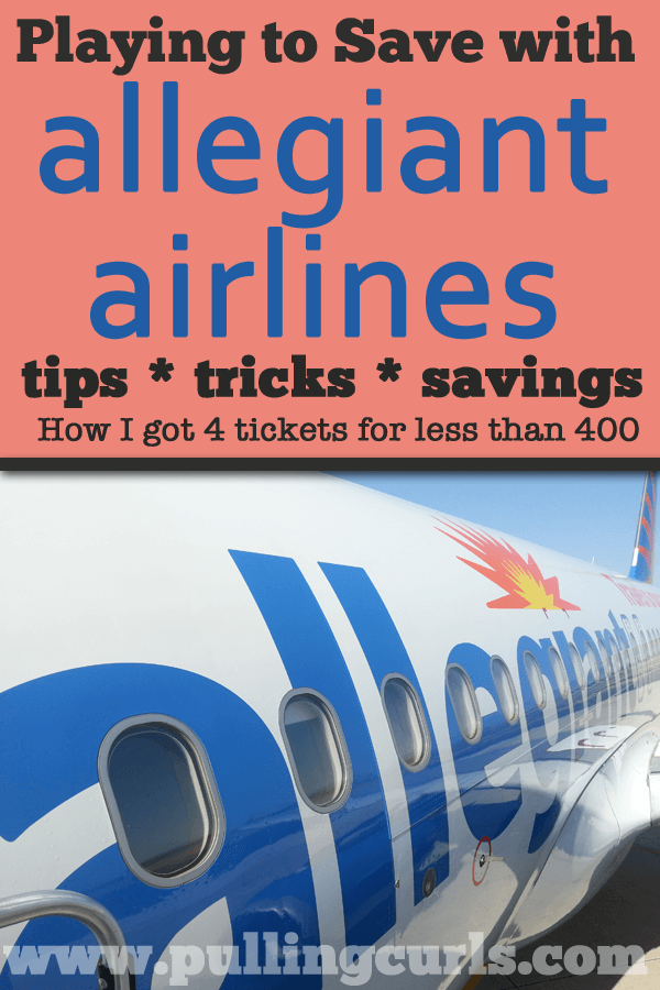 Playing the Game with Allegiant Airlines Deals