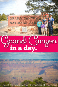 Grand canyon adventures everywhere in such an amazing natural wonder of the world! You can do it in a day!
