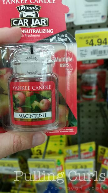 Yankee Candle Car Jars give your car just the right amount of scent without being overwhelming.