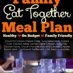This August 2015 Meal Plan will help feed your family without wanting to cry when they ask you what's for dinner.