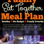 August 2015 Menu Plan