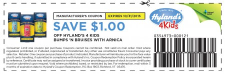 Get a coupon for Bumps 'n Bruises now!