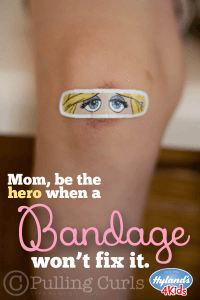 Sometimes a bandaid can't fix that bruise you can see starting. Try Hyland's Bumps 'n Bruises to stop bruises and tears before they get any bigger!