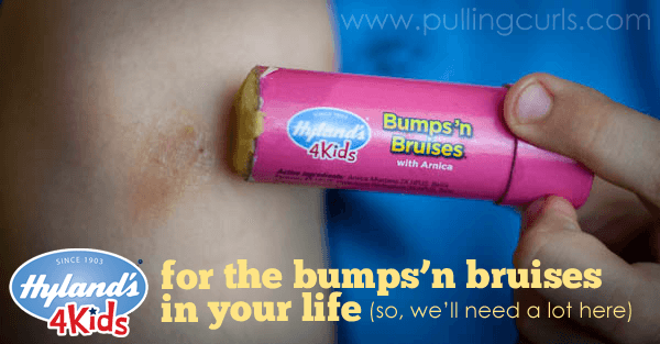 Hyland 4 Kids Bumps 'n Bruises can help your kids feel better about the accidents in their life.
