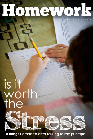Homework and Stress: Is It Worth It?