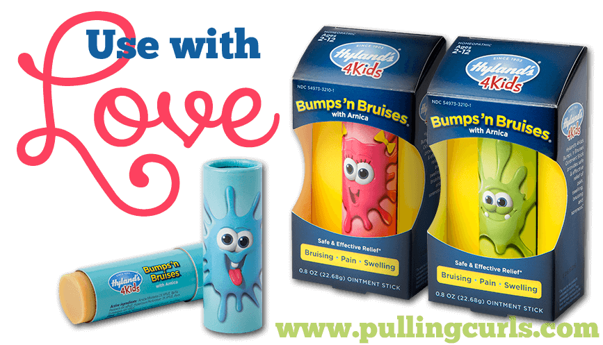 Bumps 'n Bruises is made with all natural ingredients. Stick it, and forget it.