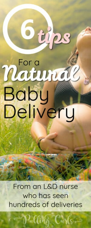 Natural Baby Delivery -- you can go without an epidural IN the hospital!