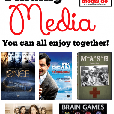 Finding media your whole family can enjoy can be really difficult. Here are my tips for finding it for your family and all enjoying your time together!