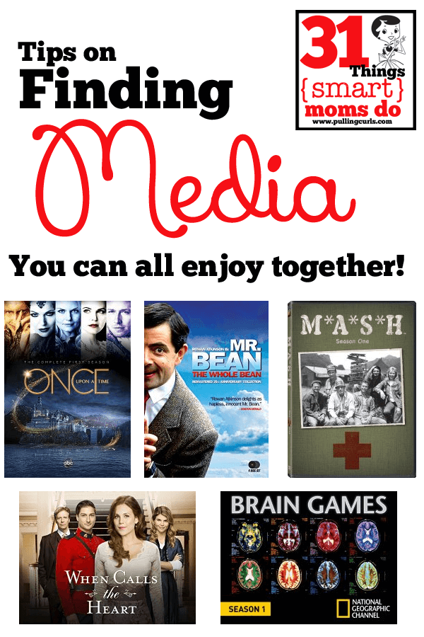 This family TV list might help you find some good media to share with your family to enjoy some time together and unwind.