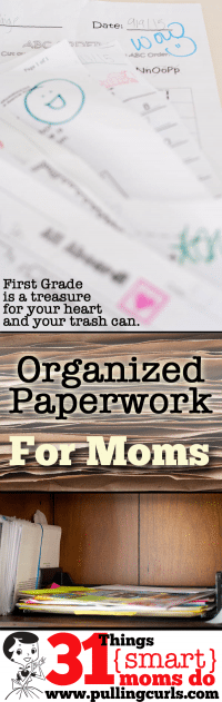 how to organize paperwork in your home