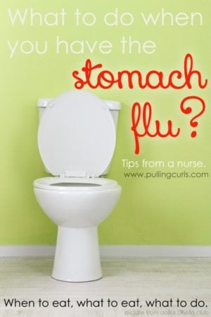 How to treat stomach flu