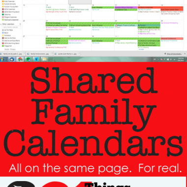 Shared family calendars can be a game changer. Know what everyone is doing, be on the same page. Literally. #pullingcurls