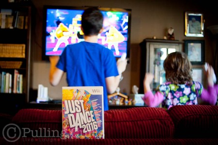 Just Dance with Family.