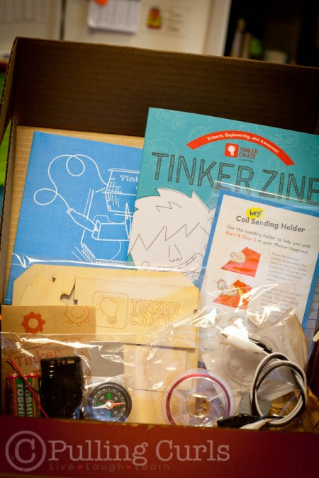 This tinker create is about creating a circuit.