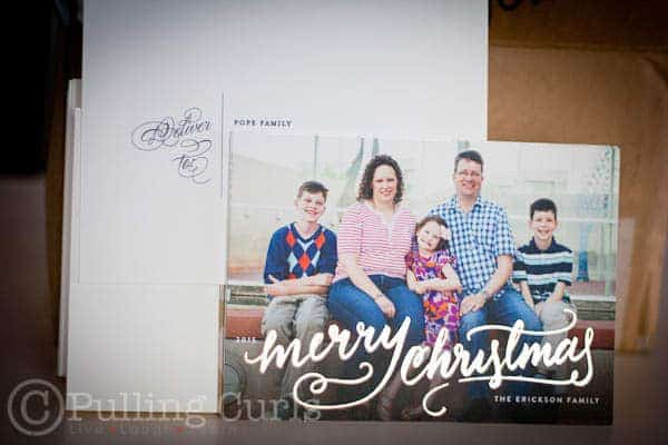 Our beautiful Christmas Cards from minted.