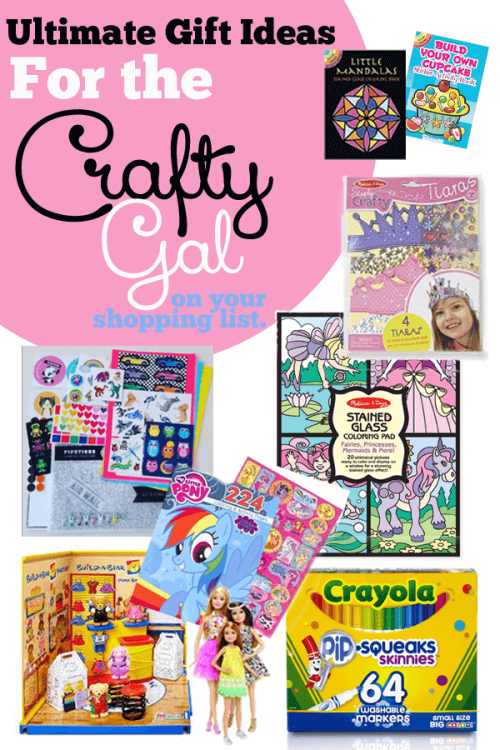 Girl gift ideas - Craft gifts for Christmas and craft gifts for kids make for a fun present!