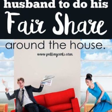 marriage | chores | getting your husband to do chores | cleaning the house