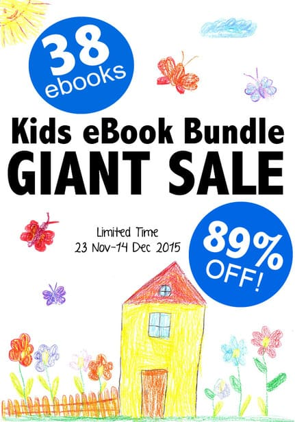 This HUGE collection of parenting, educational and fun books is available at a HUGE discount for a very limited time, check it out!