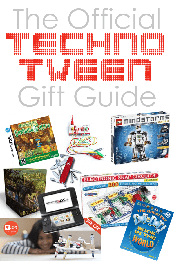 Gift Guide For Your Techno Tween
