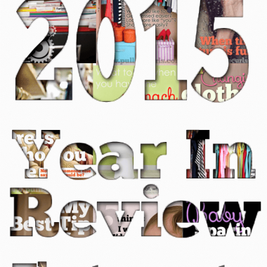 2015 in review -- my best posts from this year and a glimpse at my best over all!