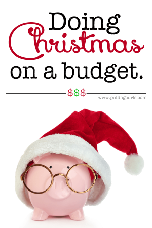 Christmas is a fine line. Presents bring a lot of joy, but that has a finite limit, yet we continue to buy. Here's some tips about doing Christmas on a budget, with all the joy. :)