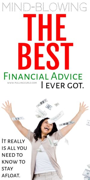 The best financial advice