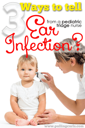 This ear infection symptoms will help you know if it's an ear infection or if it's something else. Ear infections can be so miserable. Let's help our little ones!