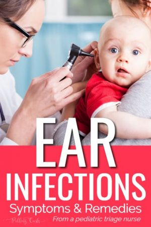 ear infection symptoms in babies
