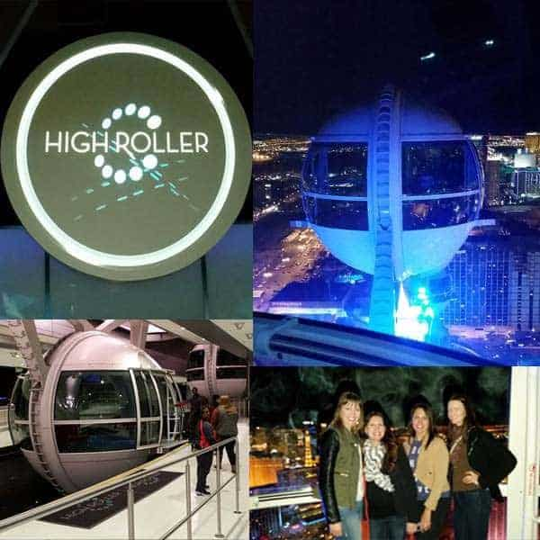 High roller wheel in Las Vegas