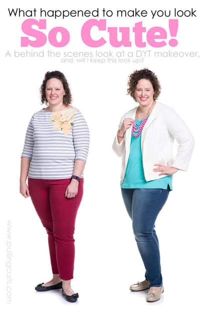 Makeover | before & after | dressing your truth | Carol Tuttle | Type 1 | give yourself | beauty | hair | makeup | clothes | colors