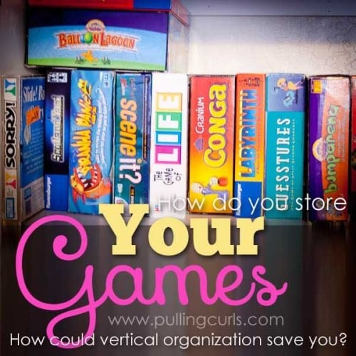 Orgainzing games vertically is a great way to make them accessible!