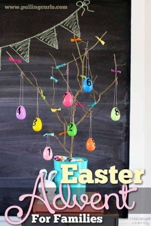 Let the work be done for you with this quick Easter Advent. Help your kids understand the true meaning of Easter!