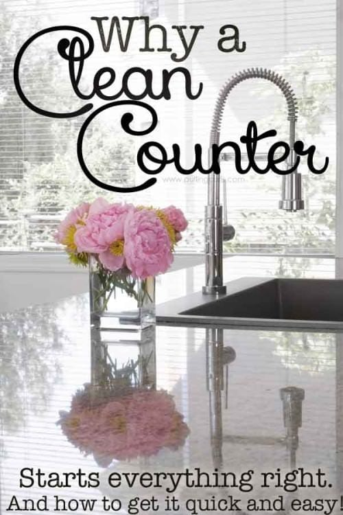 counters clean | vinegar | natural | microfiber | keeping