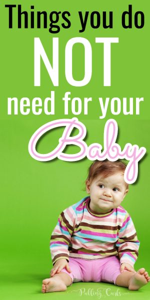 5 Baby Items You Don't Need