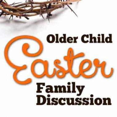 Sometimes older kids get lost in the shuffle at Easter time. This lesson will review the last week of Christ's life so you can discuss the events surrounding Easter more in depth.