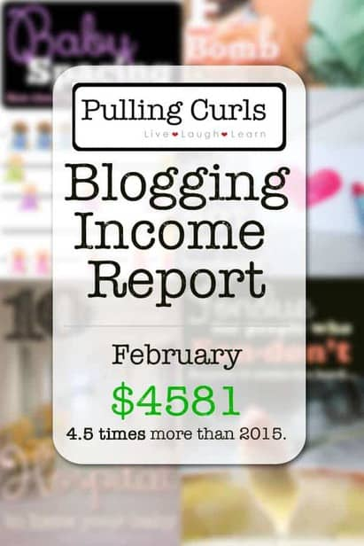 February 2016 income is up 4.5 TIMES what it was last year at this time. Let's learn together what I'm doing to increase my income!
