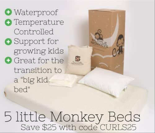 5 little monkeys bed coupon code