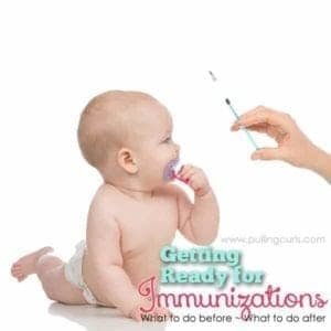 Get your baby immunization ready with this set of 6 things you can do before and after to make the day a little easier.