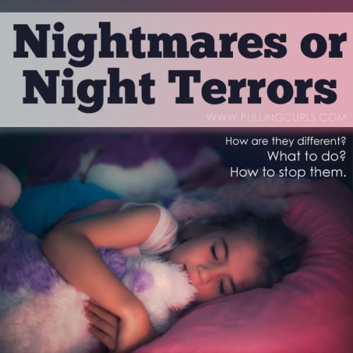 Is it a nightmare or a night terror. Both can be scary but they are very different, and here's a solution to night terrors. Guaranteed.