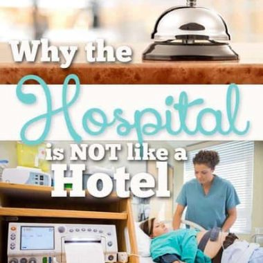 it is easy to confuse a hospital and a hotel. Both provide the same basic services, but they are VERY different, and here's why!