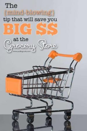 This mind blowing tip will save you big at the grocery store. Or, maybe you're smarter than me, but this has saved our family big time!